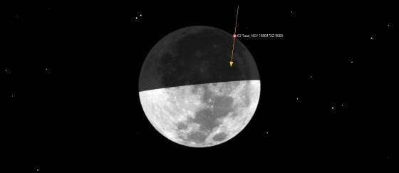 月掩畢宿增十一