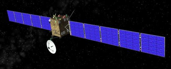 14年前羅塞塔號彗星探測器發射升空