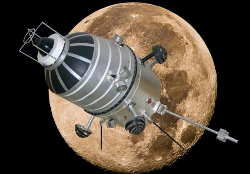 52年前人類第一個環繞月球的飛行器月球十號