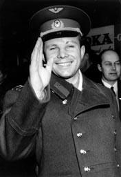 57年前第一個太空人升空