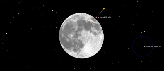 月掩斗宿三