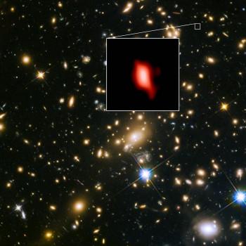 宇宙誕生二億五千萬年後即有恆星出現