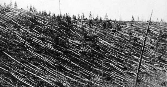 110年前今日小行星撞擊事件通古斯大爆炸