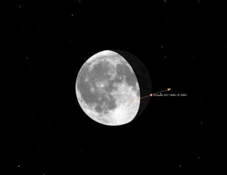 月掩寶瓶座第三十九號恆星