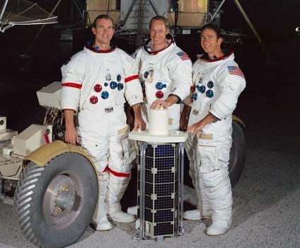 47年前今日人類首次人駕駛歷史上第一輛月球車