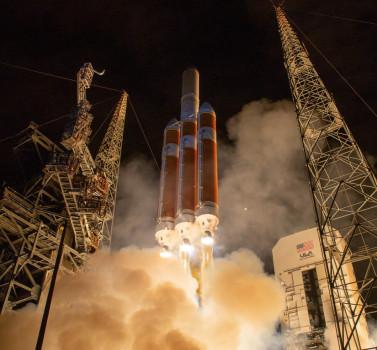 美國太空總署今日下午成功發射太陽探測太空船