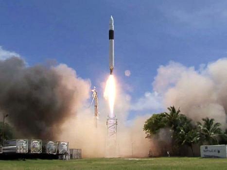10年前今日首家民營太空公司發射火箭升空
