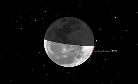 月掠掩井宿七