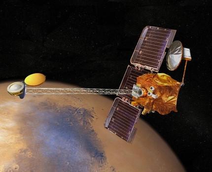 17年前今日2001火星奧德賽號進入環繞火星軌道