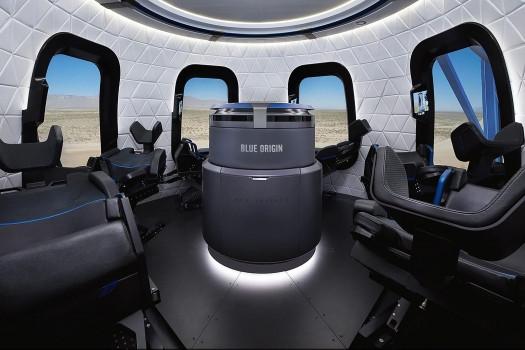 藍色起源宣佈2019年實現太空旅行