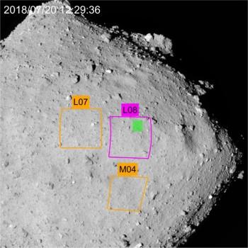 日本選定隼鳥二號二月中登陸龍宮小行星地點