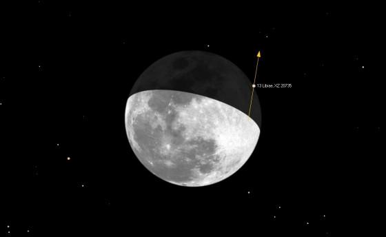 月掩氐宿增四