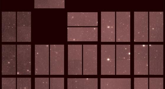 刻卜勒太空望遠鏡退役前拍攝的最後一張照片