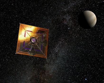 9年前今日日本成功發射第一個在行星際空間運作的太陽帆