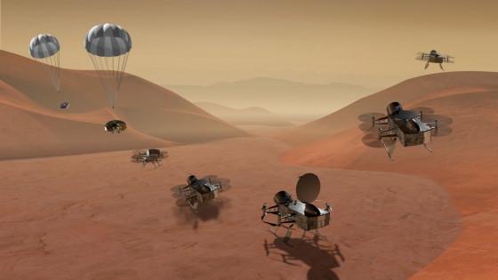 美國太空總署計劃2026年發射無人直升機到土衛六