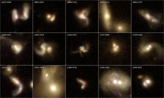 揭開星系合併中的黑洞神秘面紗