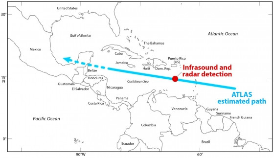 夏威夷大學團隊成功定位出對地球有威脅的小行星