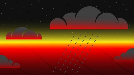 熱木系外行星夜晚側的溫度竟然出奇相近