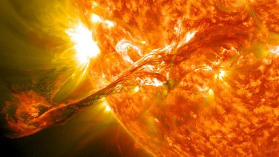 160年前今日英國天文學家發現太陽耀斑