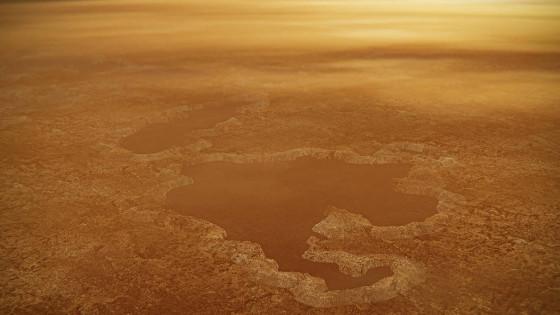 一項新的研究認為土衛六的湖泊是炸出來