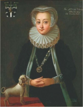 丹麥女天文學家索菲亞·布拉赫誕辰