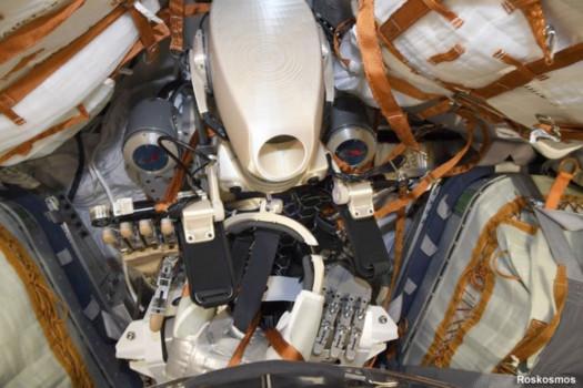 俄羅斯費多機械人昨日乘搭聯盟號太空船返回地球