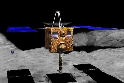 14年前今日隼鳥號進入糸川小行星軌道